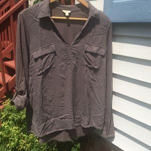 Sonoma grey long sleeve top